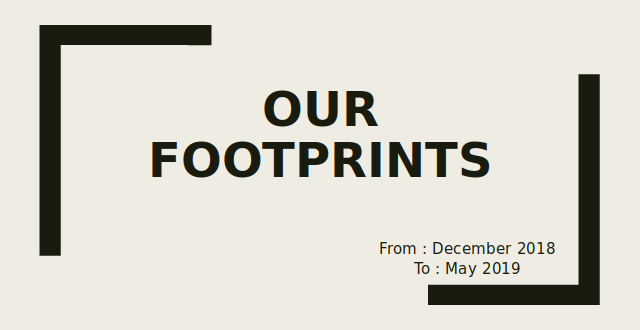 Our Footprints - Titlepage